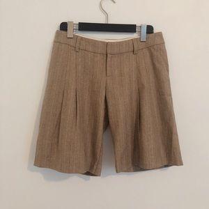 Lauren Moffat wool dress shorts 4 SH
